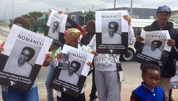 Where is the justice for Nomanesi